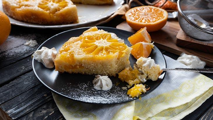 Citrus Upside Down Cake vegan