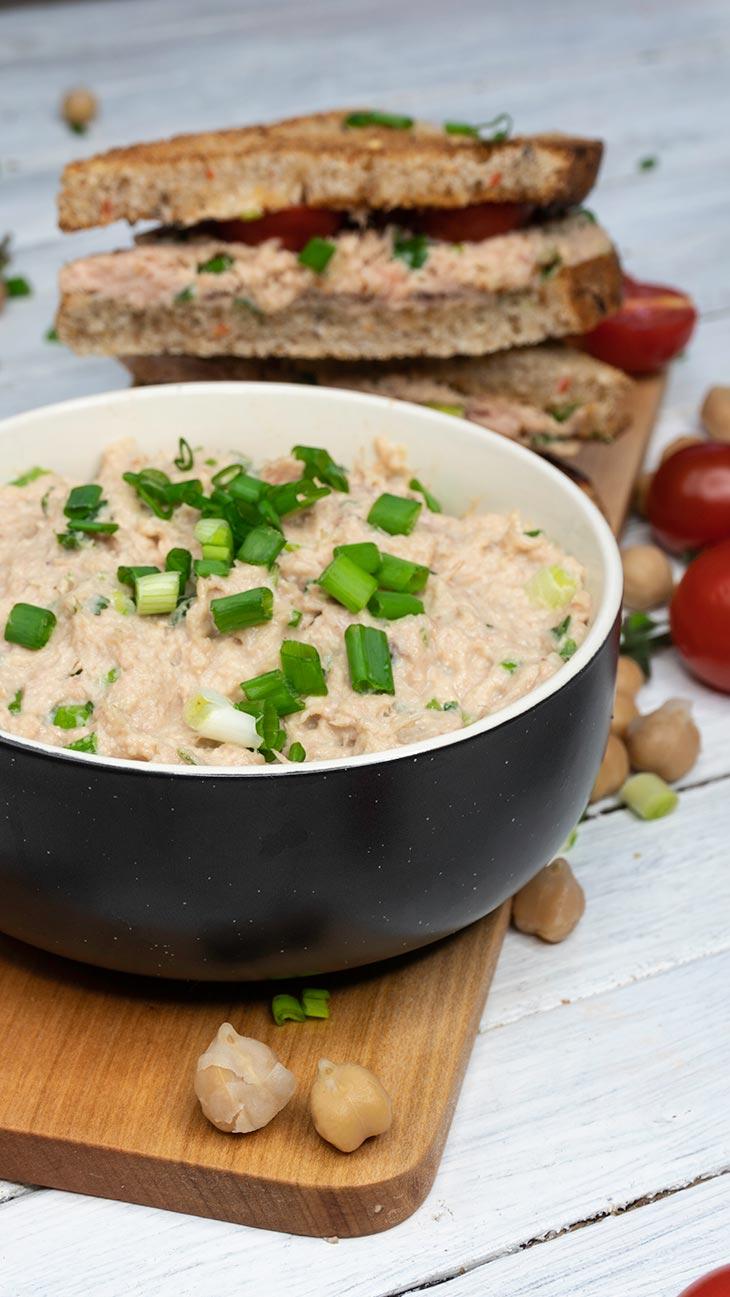Faux Tuna Salad How to make vegan tuna