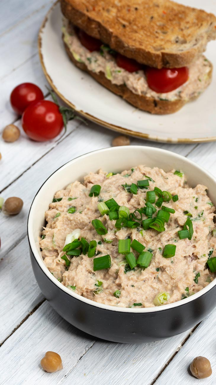 Faux Tuna Salad Recipe