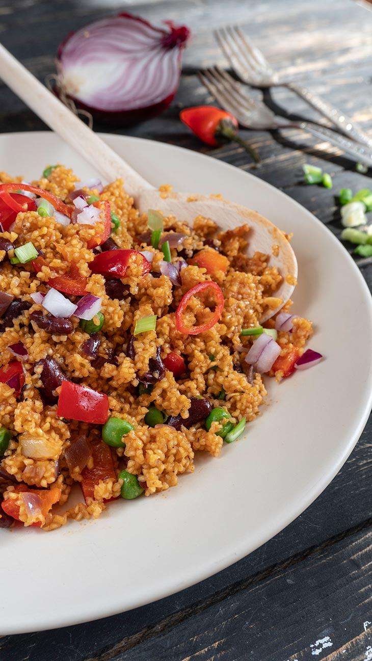 Mexican Quinoa dish