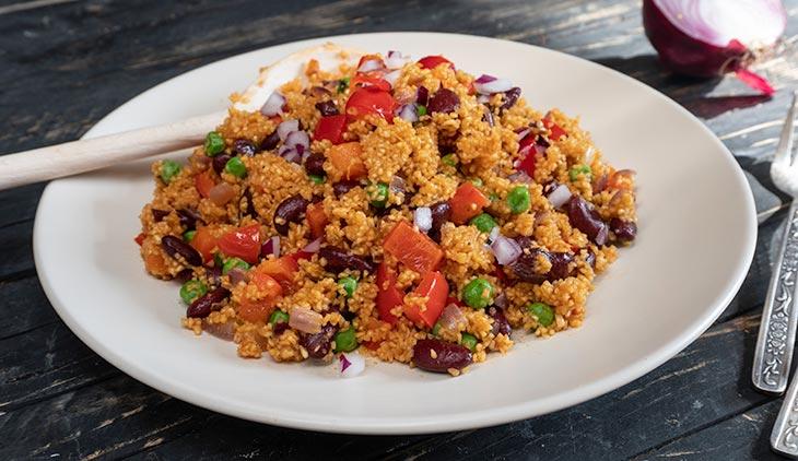 Mexican Quinoa savory recipe