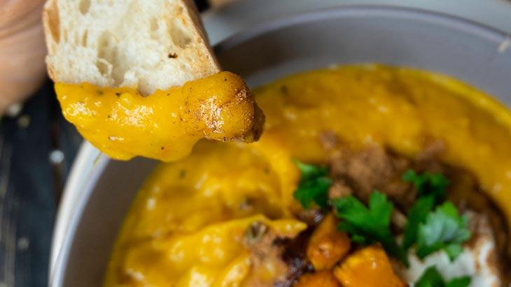 Pumpkin Soup supa crema de dovleac