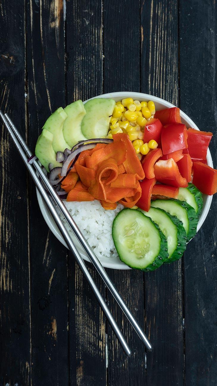 How To Make A Vegan Poke Bowl