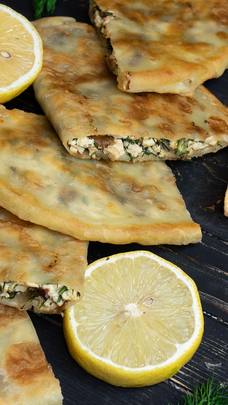 how to make vegan gozleme