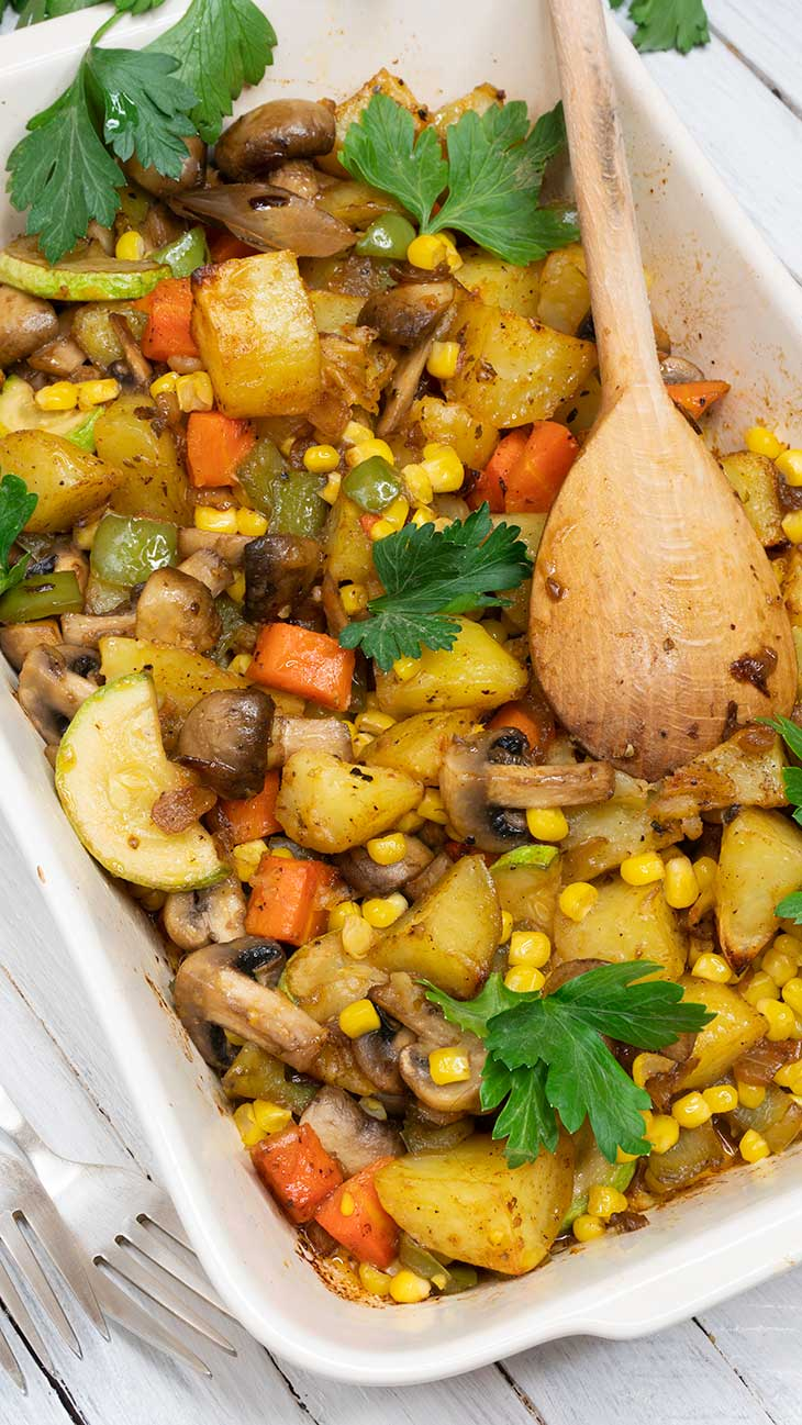 Vegan Breakfast Hash Recipe