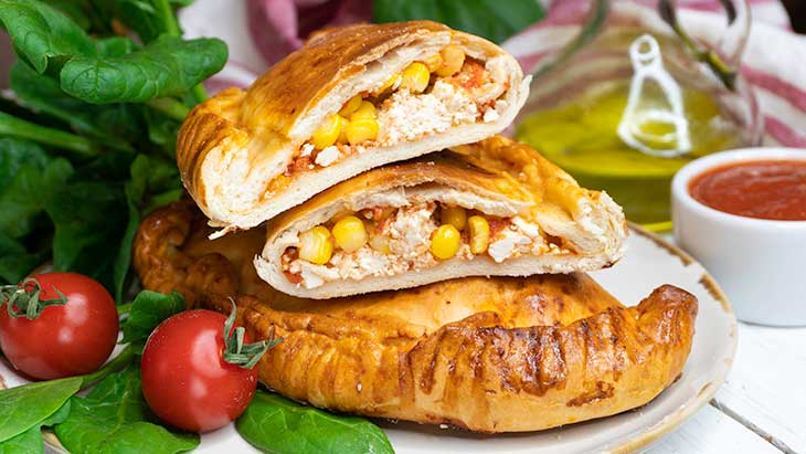 Vegan Calzones Pizza Pockets