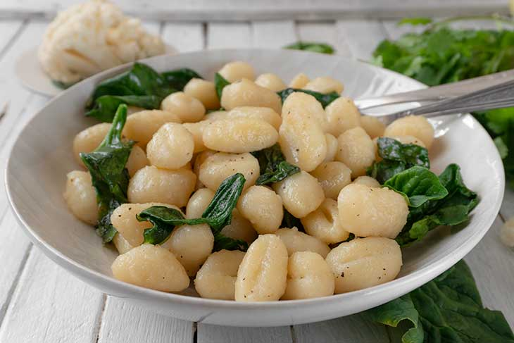 Vegan Cauliflower Gnocchi healthy recipe