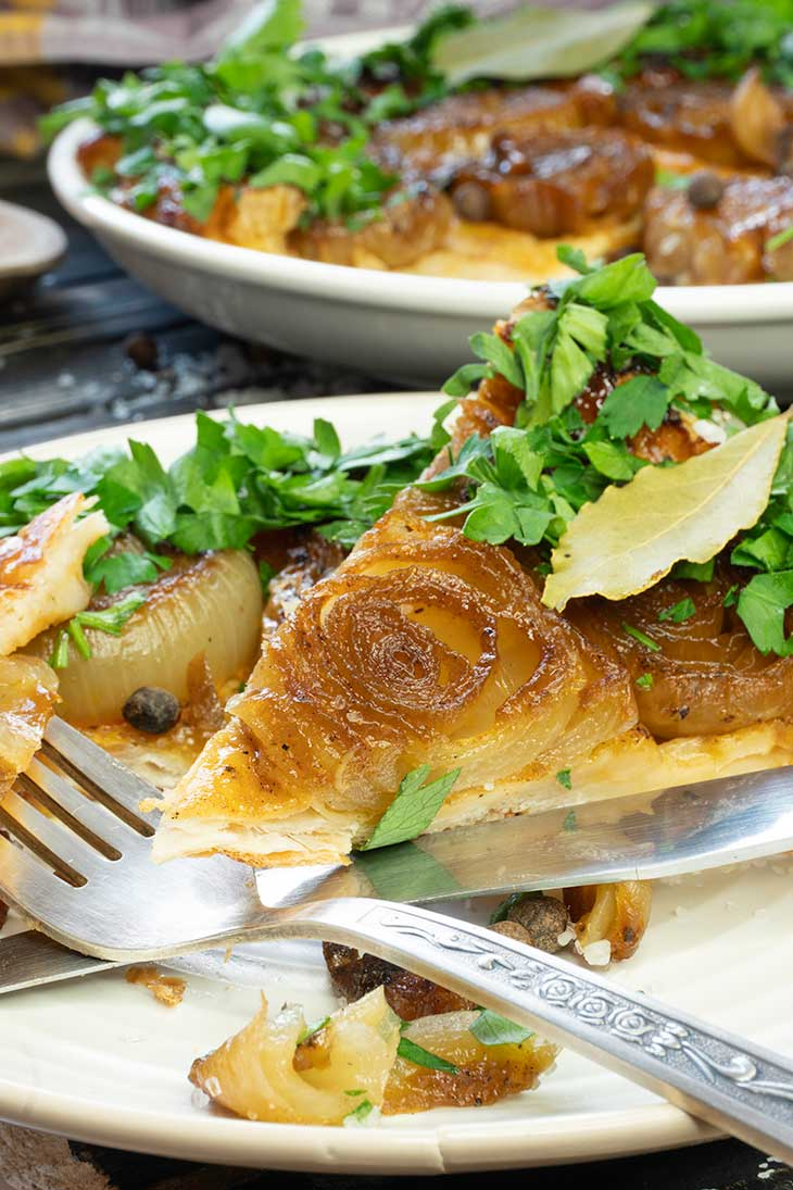 Vegan Onion Tart healthy recipe