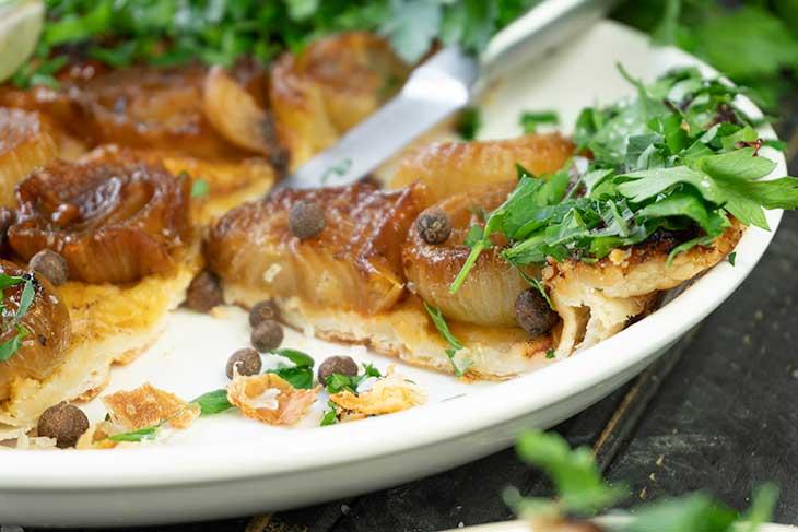 Vegan Onion Tart recipe