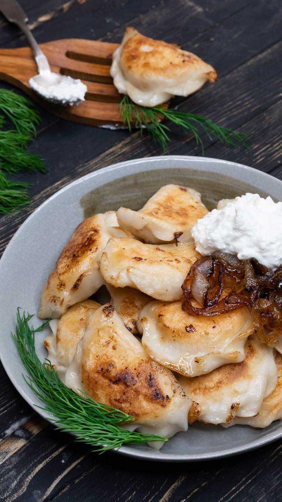 Vegan Pierogi russian recipe