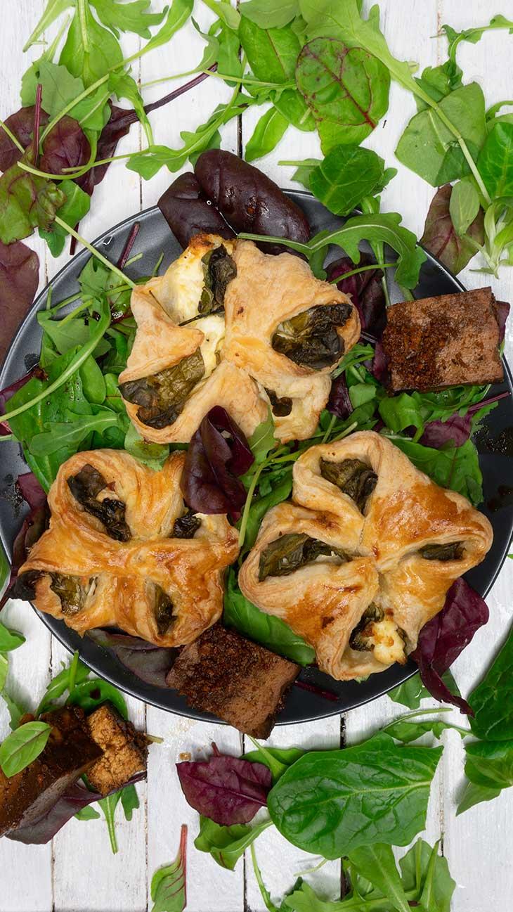 Vegan Spinach Puffs recipe