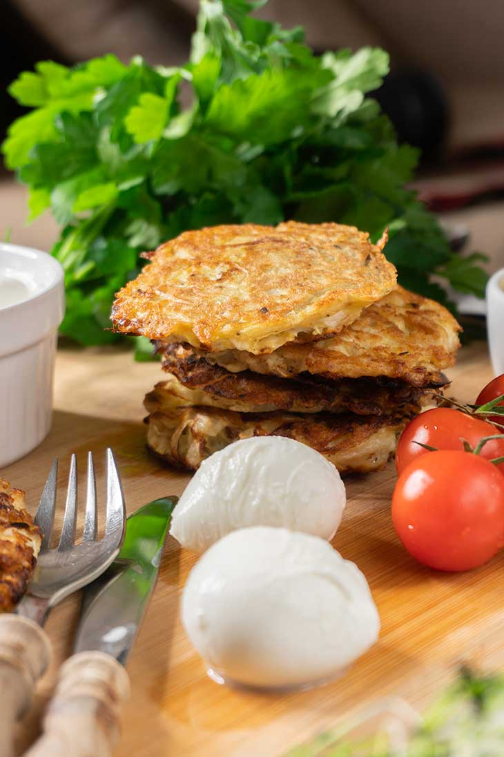Cabbage Hash Browns recipe