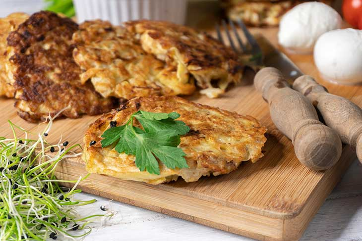 Low Carb Cabbage Hash Browns Patties