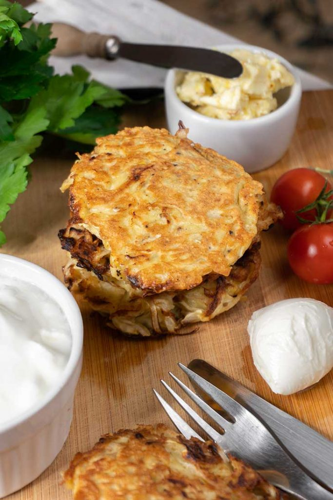 Low Carb Cabbage Hash Browns recipe