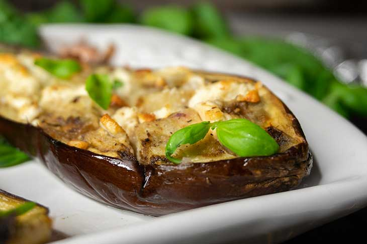 Perfect Oven Roasted Eggplants vegan Recipe