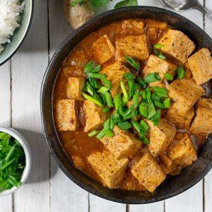 Vegan Mapo Tofu Healthy Recipe