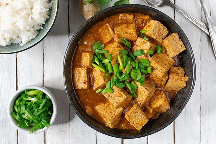 Vegan Mapo Tofu Healthy Recipe