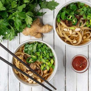 Vegan Udon Soup Recipe Supa Udon