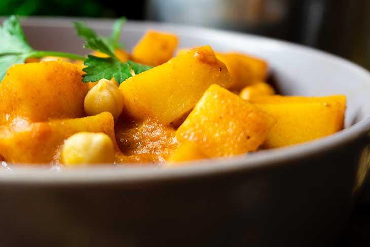 Healthy Potato curry recipe