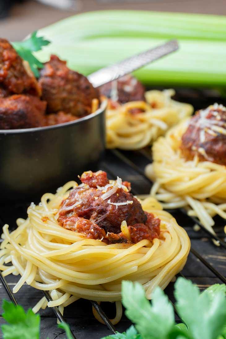 Cosulete de spaghete reteta