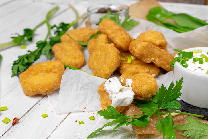 Vegan Chick'n Tofu Nuggets