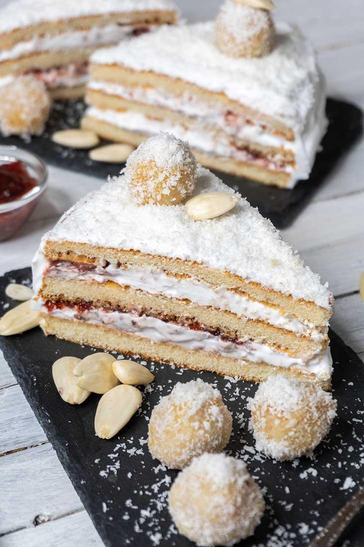 Vegan Raffaello Cake Recipe