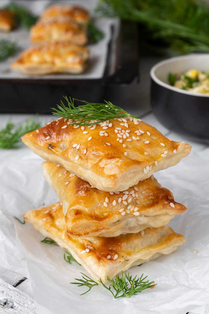 Pachetele cu omleta reteta