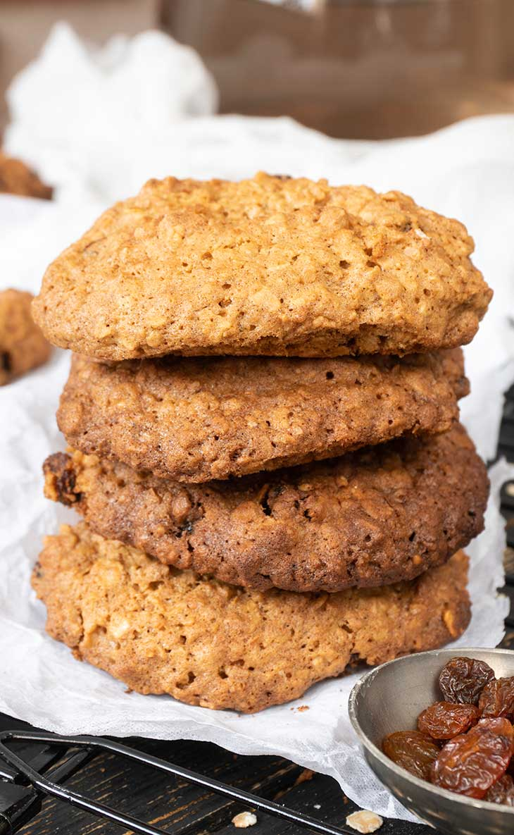 Healthy Vegan oatmeal cookies recipe