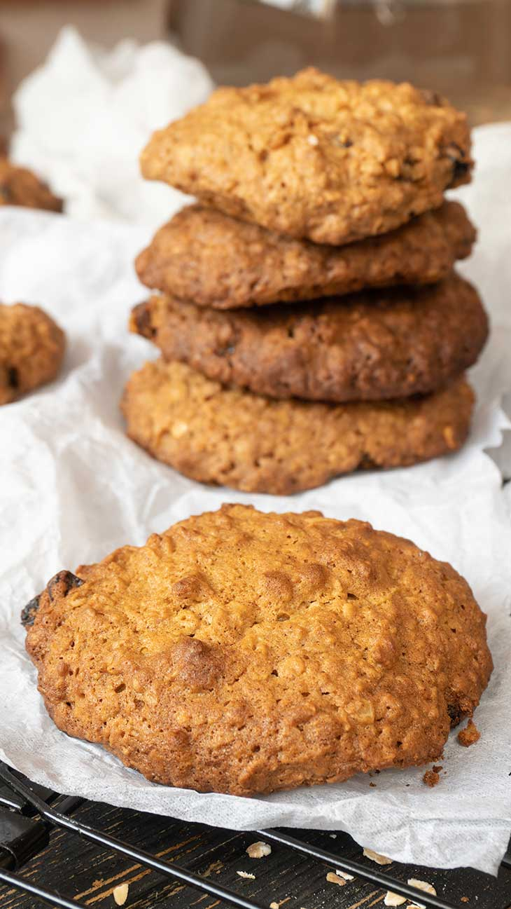 Quick Vegan oatmeal cookies