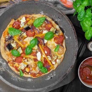 Skillet Pizza la tigaie