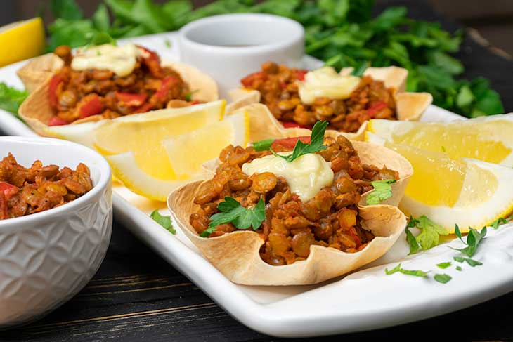 Vegan Taco Cups