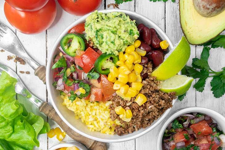 Veggie Taco Bowl