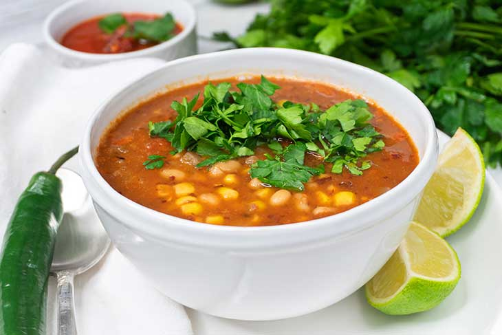 simple hearty beans soup