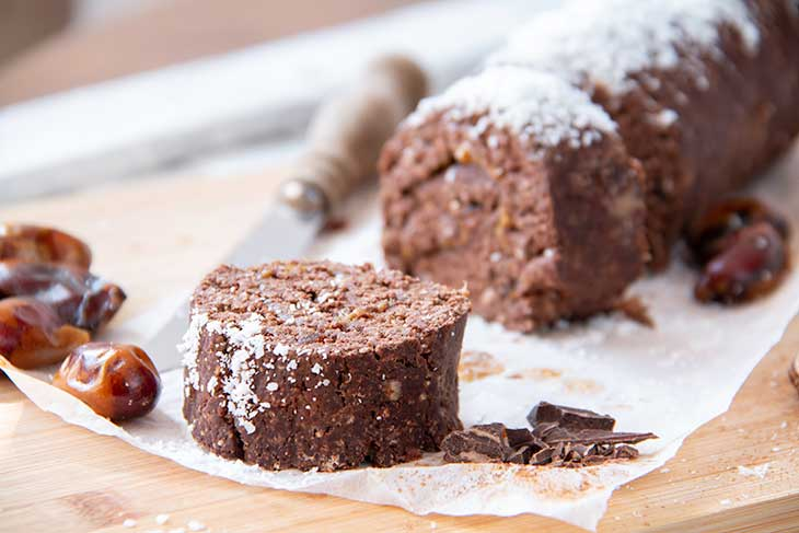 Double Chocolate Swiss Roll Recipe Rulada cu ciocolata