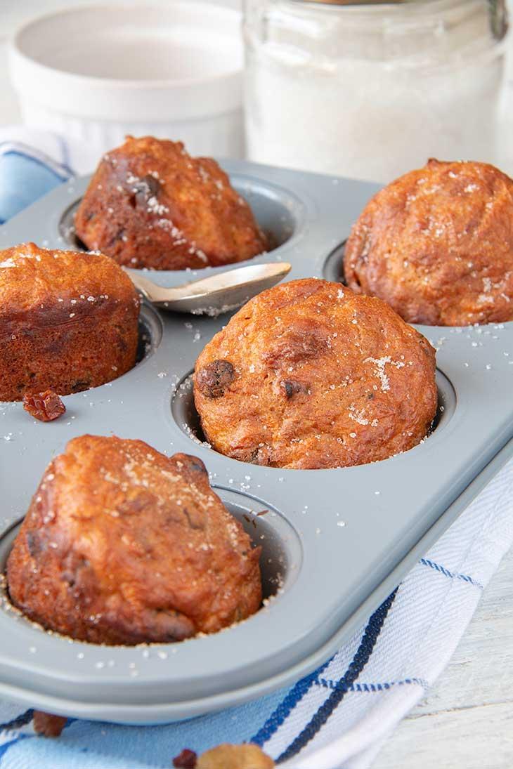 Vegan Carrot Muffins recipe