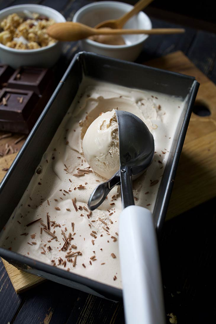 Chocolate peanut butter ice cream recipe