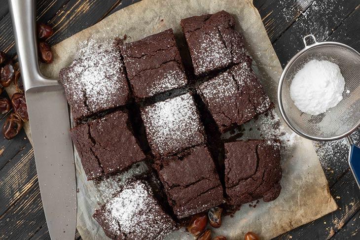 Protein-Power Black Bean Brownies Dessert