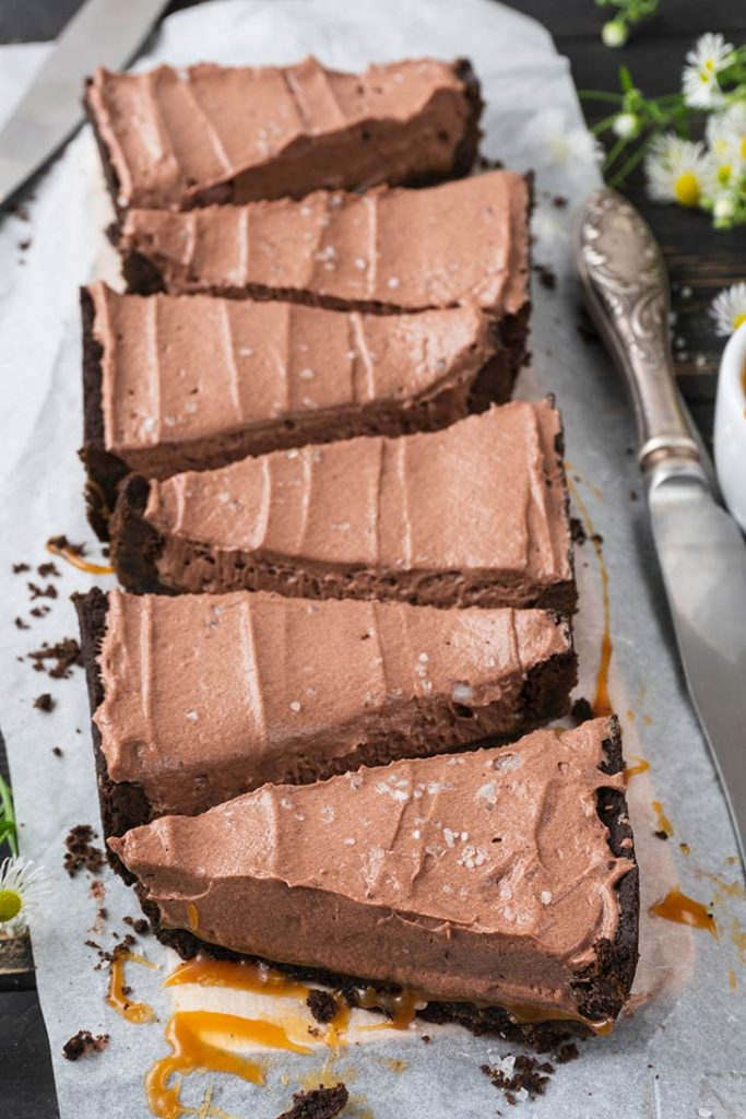 Salted Caramel Chocolate Tart Dessert Tarta cu ciocolata si caramel sarat
