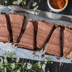 Salted Caramel Chocolate Tart Recipe Tarta cu ciocolata si caramel sarat
