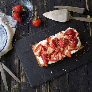Vegan Strawberry Tart Tarta cu capsuni de post