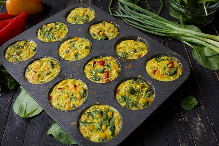Veggie Breakfast Muffins