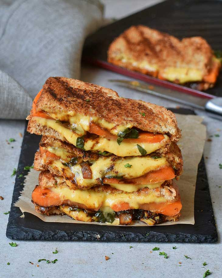 Best Vegan Grilled Cheese Sandwiches