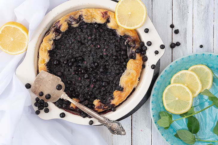 Blueberry Pie Placinta cu afine
