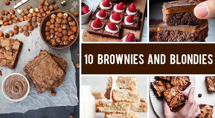 10 Vegan Brownies and Blondies Recipes That Are Definitely NOT Boring
