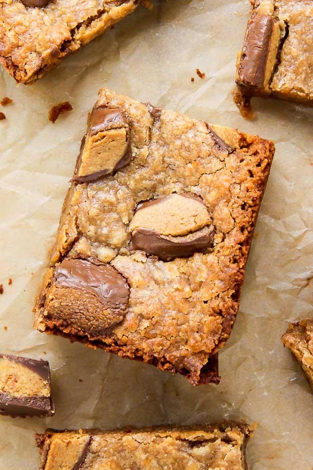 5-Ingredient Peanut Butter Blondies