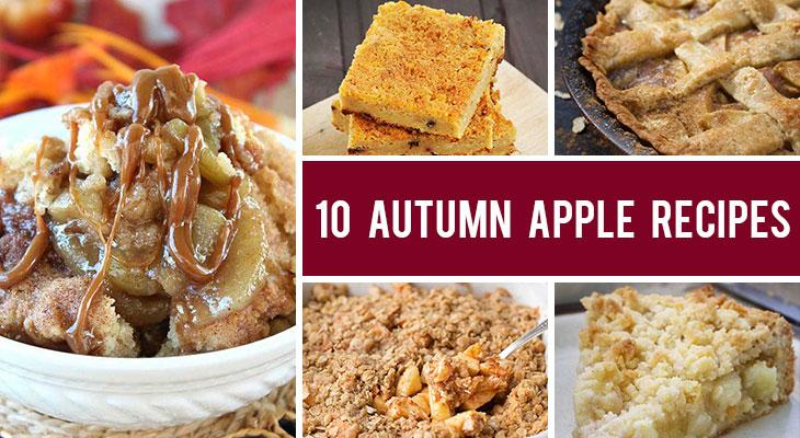 10 Delicious Autumn Apple Recipes for Fall