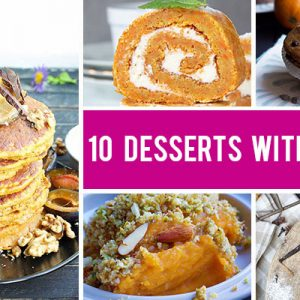 10 Ways You Can Use Veggies in Desserts