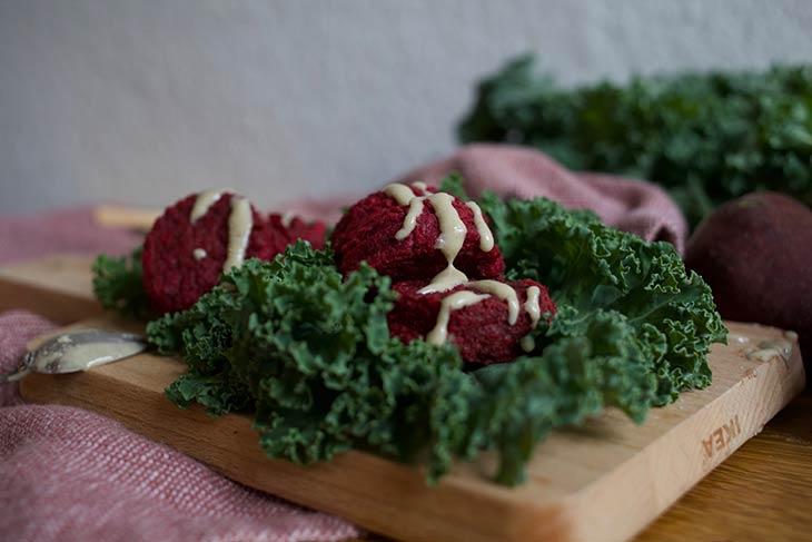 Pink Falafel Recipe