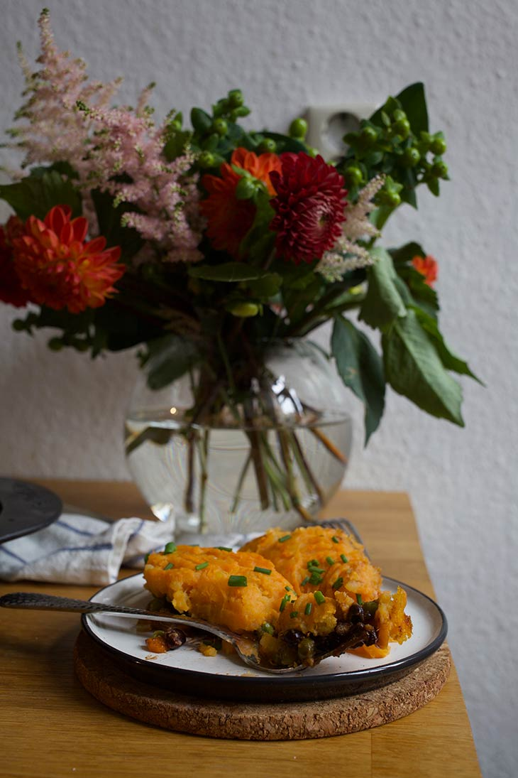 Sweet Potato Shepherd's Pie Vegan Recipe