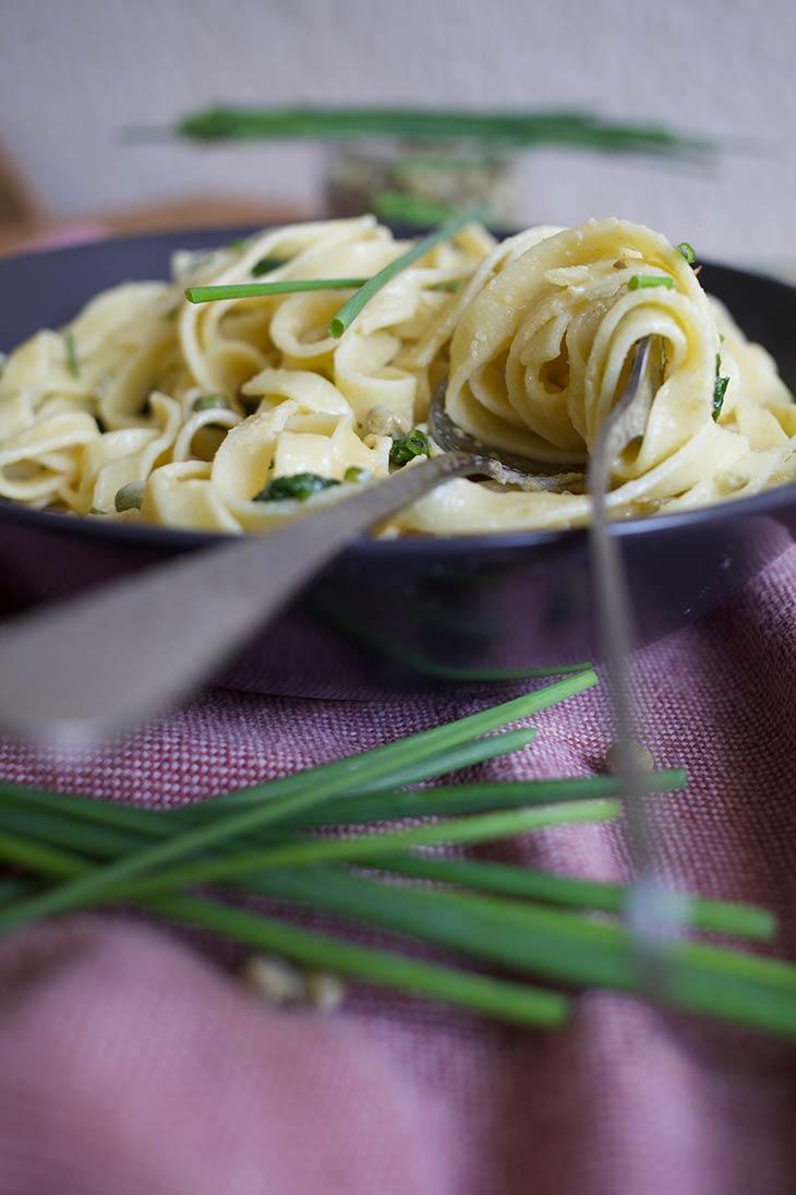 Vegan Hummus Pasta Recipe